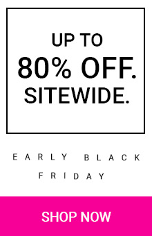 Save Up To 80% Sitewide