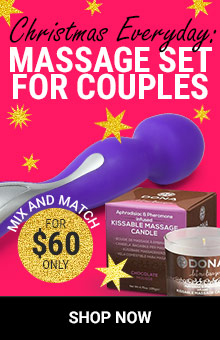 Lover's Touch! Deluxe Massage Gift Set