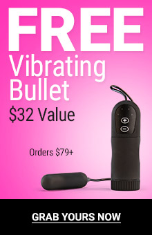 Free vibrating bullet with orders $79+