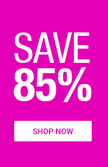 Save 85% On Selected Items