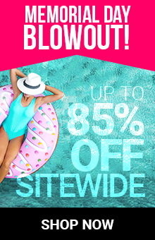 Memorial Day Blowout! Save Up To 85% Sitewide