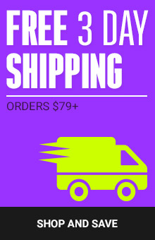 Bonus 3 Day Delivery With Orders $79+