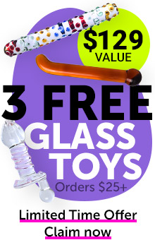 3 Free Glass Toys With Orders $25+