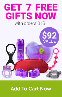 FREE 7 Gifts With Orders $15+