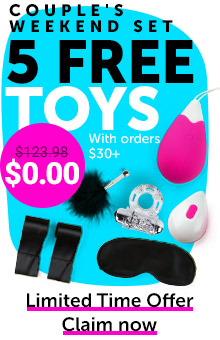 5 FREE Toys With Orders $30+