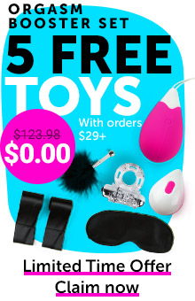 5 FREE Gifts With Orders $29+