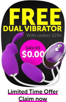 FREE Vibrator With Orders $29+