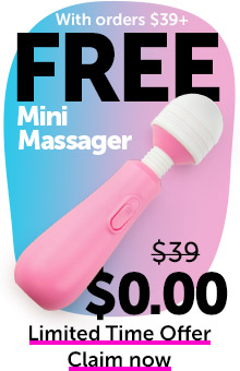 FREE Mini Massager With Orders $39+