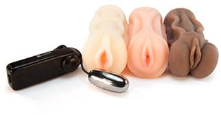 Trio masturbator kit