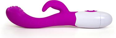 Finger motion vibrator