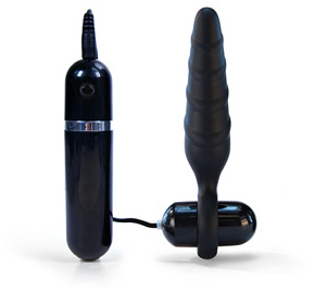 Thriller vibrating butt plug