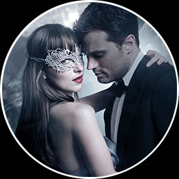 Anastasia Steele and Christian Grey