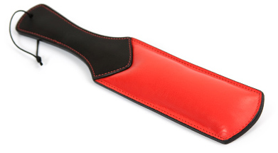 Eden padded leather paddle