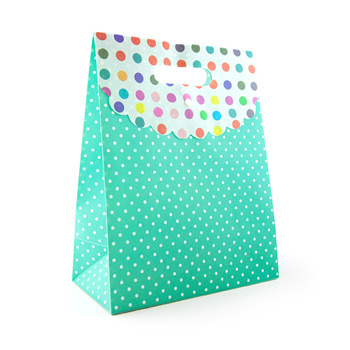 Polka dot gift tote large - Miscellaneous