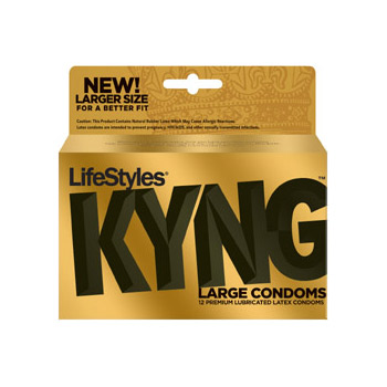 Lifestyles Kyng 12 pack - Male condom