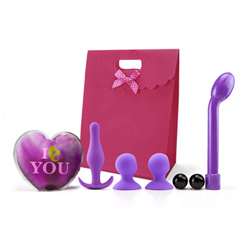 Her pleasure gift set - Vibrator kit for couples