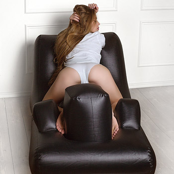 Dark magic inflatable bed Inflatable sex machine