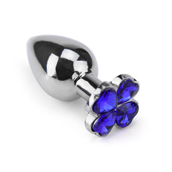 Flower gem - Metal anal plug