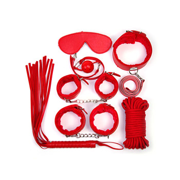 Kinky lust kit - Complete BDSM set