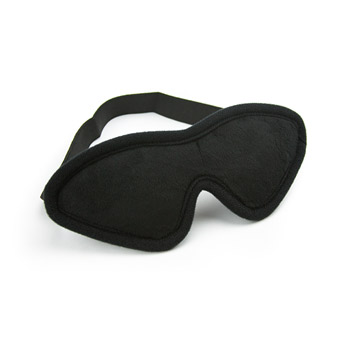 Soft touch blindfold