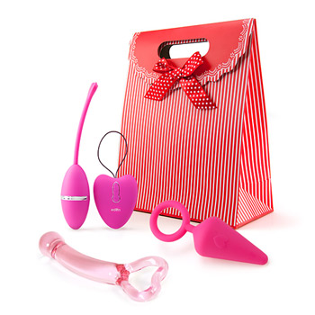 All of my heart - Vibrator kit for couples