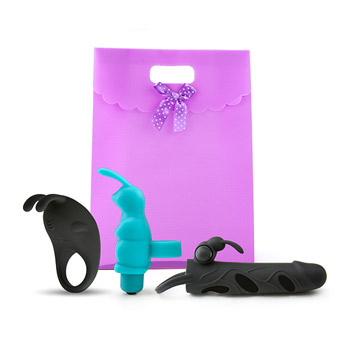 Bunny love - Vibrator kit for couples