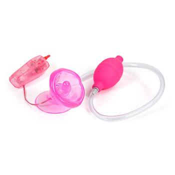 Naughty kisser hands free vibrating clitoral pump - Clitoral pump