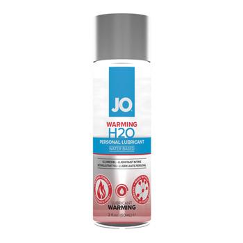JO H2O warming lubricant