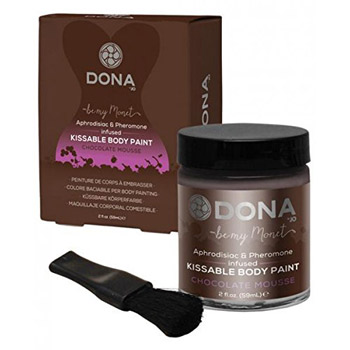 Image of Dona kissable body paint (Chocolate)