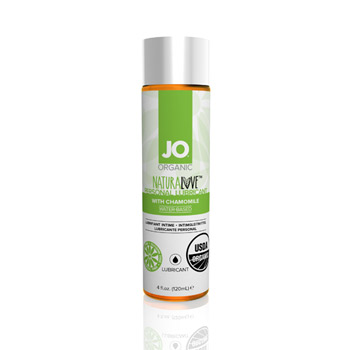 JO naturalove USDA organic lubricant