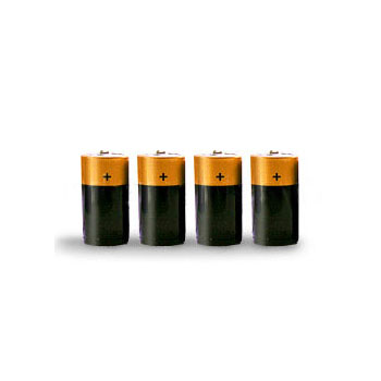C batteries 4 pack