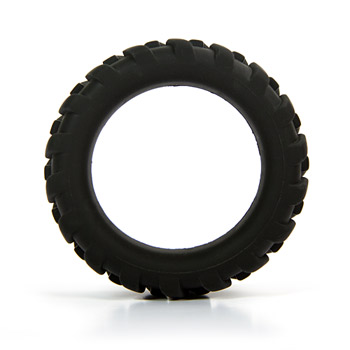 Mack Tuff large tire ring - Textured cock ring
