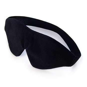Plushy gear lover's eye mask