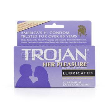 Trojan her pleasure sensations - Male condom