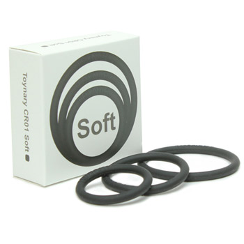 Toynary CR01 soft silicone cock rings - Cock ring set
