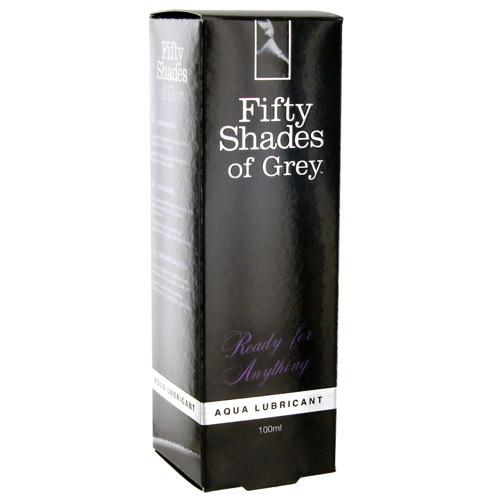 Fifty Shades of Grey aqua lubricant