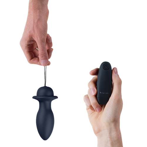 Bfilled Remote Control Butt Plug By Bswish - Buy A -9652