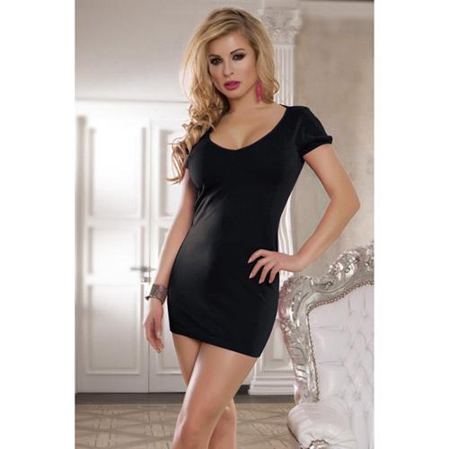Spice mini dress with spaghetti back