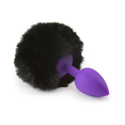 54f5d85fd Bunny Tail Plug - Silicone Butt Plug - EdenFantasys