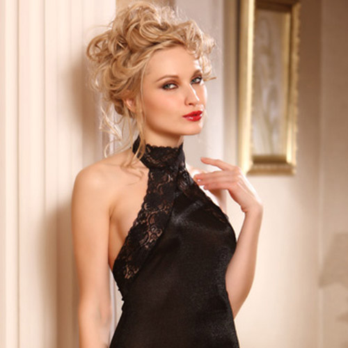 Spice halter dress