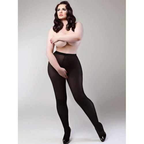 Miss Naughty crotchless tights