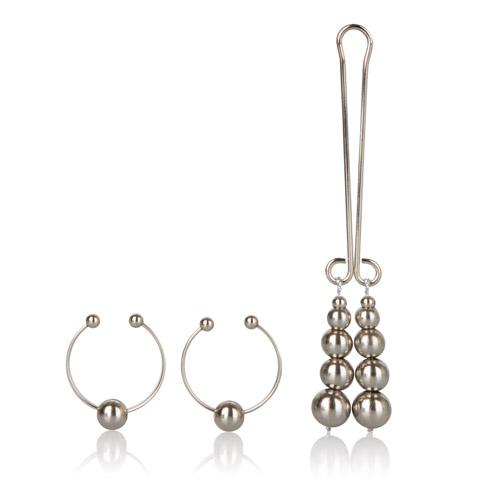 Intimate nipple clit jewelry